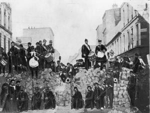 La Commune, Barricade de la rue de Charonne
