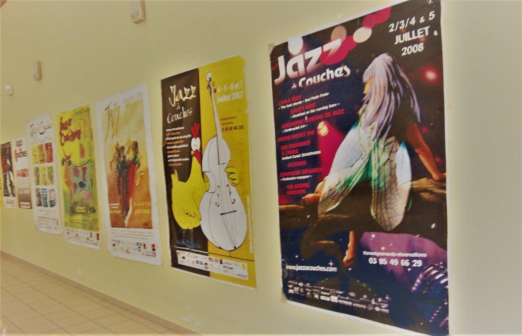 Affiches Jazz à Couches