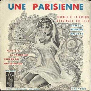 André Hodeir Une Parisienne