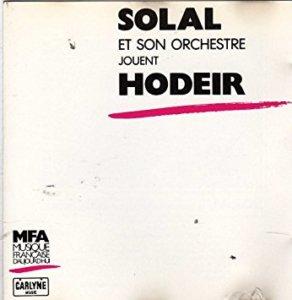 André Hodeir par Solal