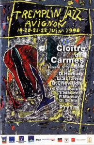 Tremplin jazz Avignon affiche humair