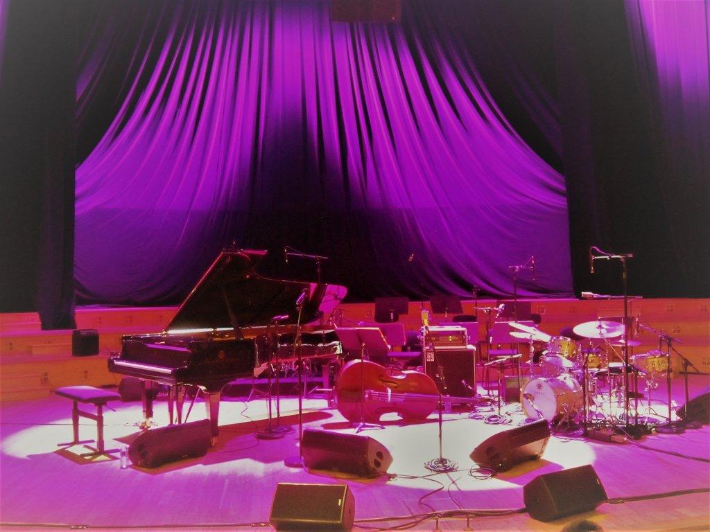 Studio 104 avant le concert
