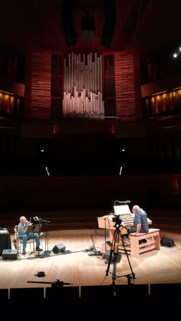 Andy Emler Et David Liebman Autour Du Grand Orgue De La