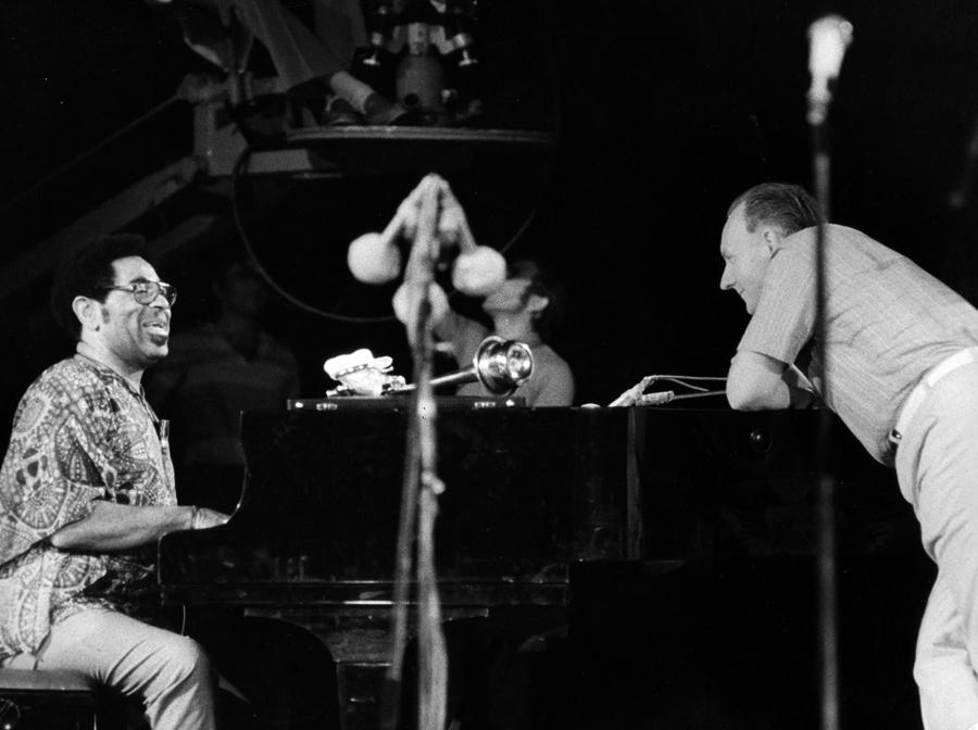 André Francis et Dizzy Gillespie © Jean-Robert Masson
