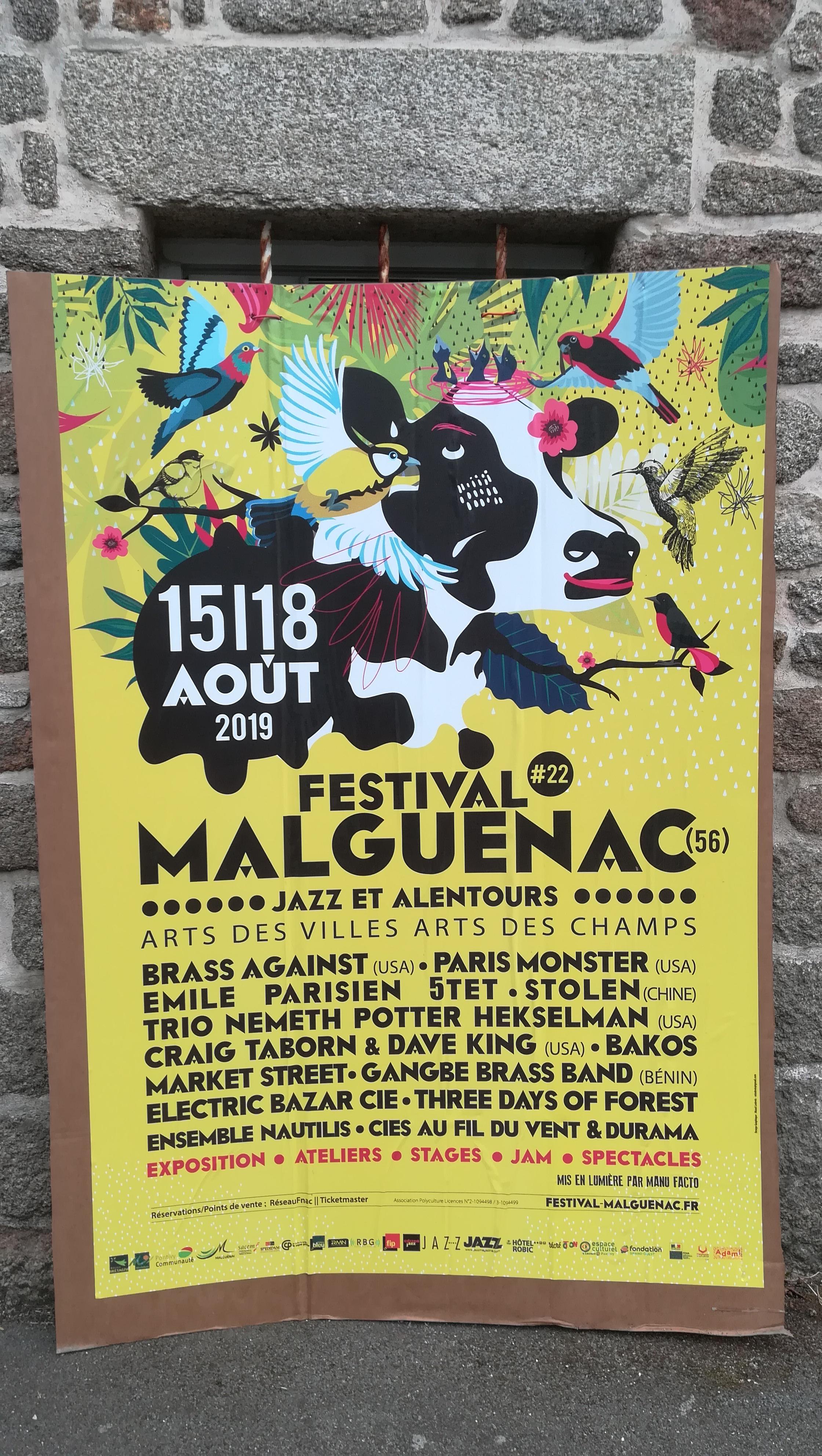 Malguénac 22: l'affiche