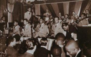 Teddy WIlson Orchestre au Golden Gate Ballroom de Harlem, 1939 © X dr