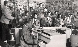 Count Basie au Famous Door dans les années 1940 © X dr / Institute of Jazz Studie - Rutgers University