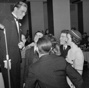 Goodman Benny et le public du Madhattan Room